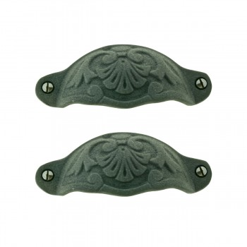 <PRE>Cabinet Pull Wrought Iron Colonial Design Pack of 2</PRE>zoom1
