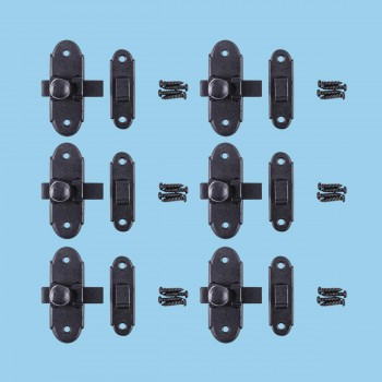 <PRE>Classic Slide Style Cabinet Latch Wrought Iron 3 H x 1.25inch W Pack of 6</PRE>zoom2