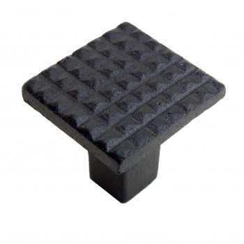 <PRE>Square Grid Iron Cabinet Knob Black Pack of 10</PRE>zoom5