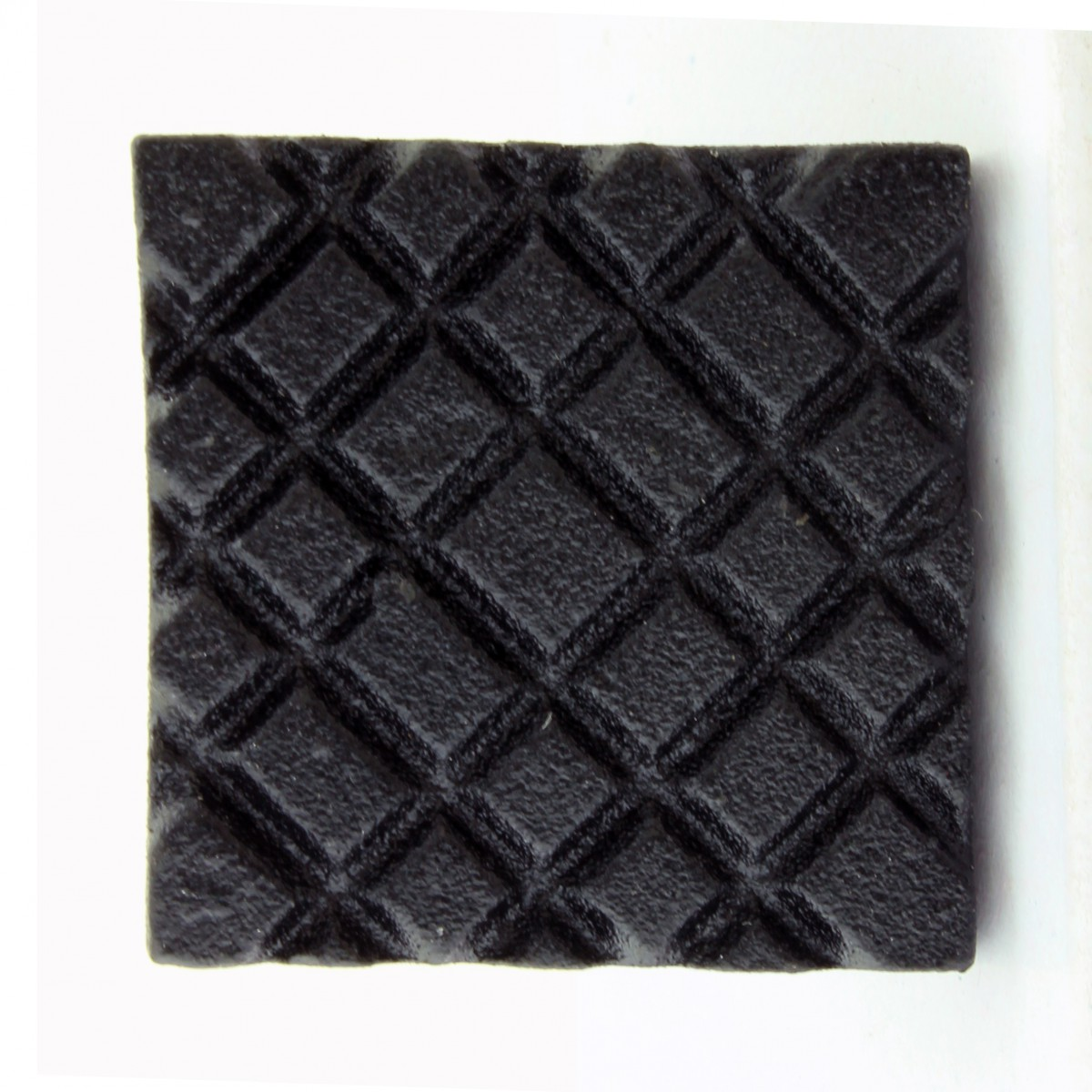 Square Diamond Grid Iron Cabinet Knob Black Pack of 10 Cabinet Knob Iron Cabinet Knob Cabinet Knob Black