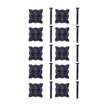<PRE>Iron Cabinet Knob Black Target Design Cabinet Hardware Pack of 10</PRE>zoom1