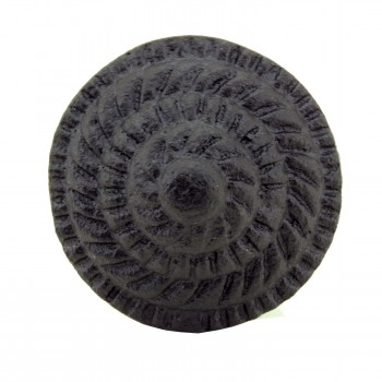 <PRE>Round Iron Cabinet Knob Black Fibonacci Design Cabinet Hardware Pack of 10</PRE>zoom7