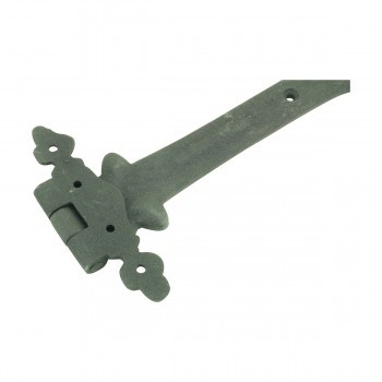 <PRE>9 Inch Wrought Iron Strap Hinge Southern Charm Rust Resistant Barn, Pack of 6</PRE>zoom10