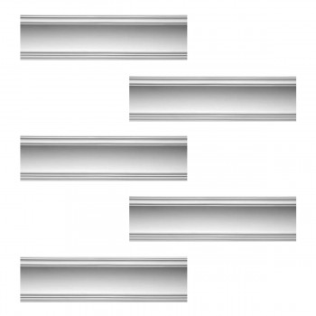 <PRE>Renovator's Supply Cornice White Urethane Golder Design 5 Pieces Totaling 475inch Length</PRE>zoom1