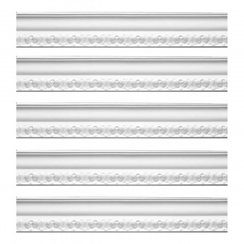 <PRE>Renovator's Supply Ornate Cornice White Urethane Melville Design 5 Pieces Totaling 475inch Length</PRE>zoom1