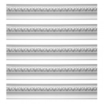 <PRE>Renovator's Supply Cornice White Urethane Hayes Ornate Design 5 Pieces Totaling 470inch Length</PRE>zoom1