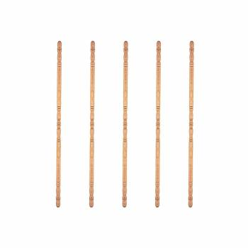 Light Hardwood Unfinished Corner Protector 1 inch Diameter Pack of 5