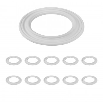 <PRE>10 Spot Light Ring White Trim 6.5inch ID x 10&quot;OD Mini Medallion 10 Pack</PRE>zoom1