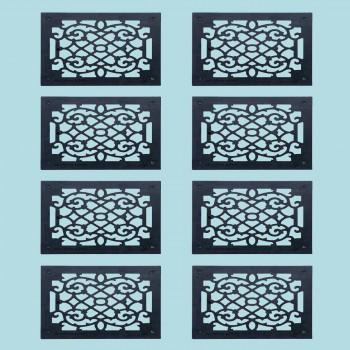 8 Heat Register Floor Vent Grate Cast Aluminum  9.5 x 11 38 Heat Register Floor Register Wall Registers