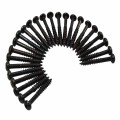 Wood Screw Set of 25 Phillips Head #8 x 1 1/4in Black - Hinges info & free shipping by Renovator's Supply.