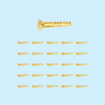 <PRE>Brass Oval Head Wood Screws # 6 3/4inch Qty 25 </PRE>zoom2