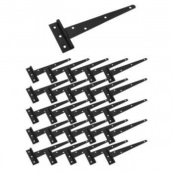 <PRE>T Strap Door Hinge Black Iron RSF Finish Light Duty 9inch Set of 25</PRE>zoom1