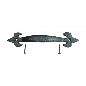 Fleur De Lis Wrought Iron Cabinet Pull 7 14 in. Cabinet Pull Wrought Iron Cabinet Handle