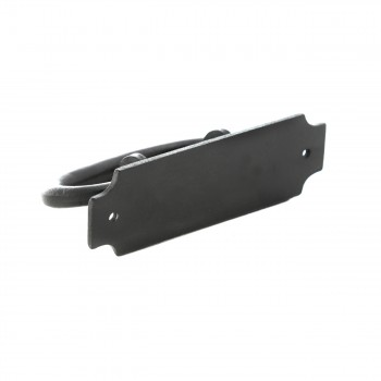 "<PRE>12 Cabinet or Drawer Pull Black Wrought Iron 5 1/4inch x 1 9/16"" Renovator's Supply</PRE>zoom5"