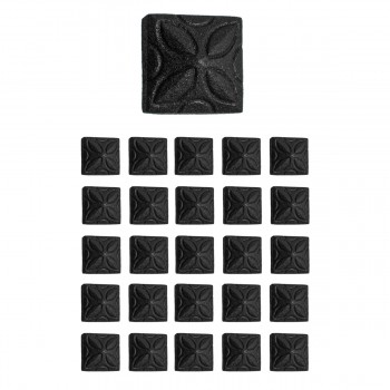 <PRE>25 Clavos Wrought Iron Nails Decorative Big Head Black Iron Nails 4 1/4 Inch</PRE>zoom1