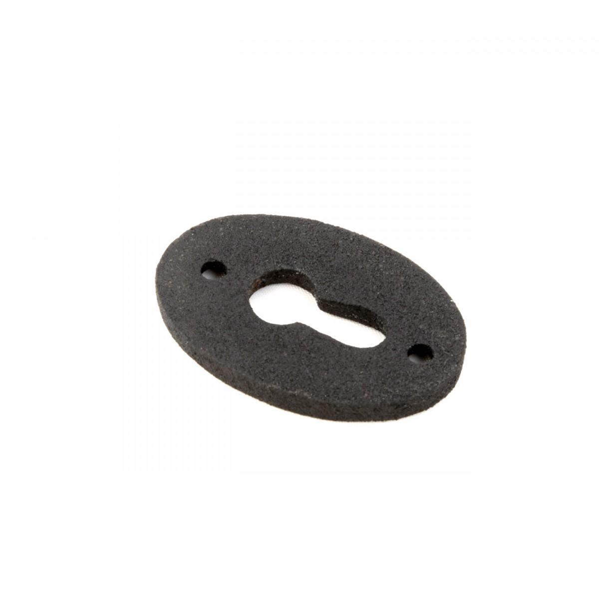 Wrought Iron Keyhole Cover Escutcheon Replacement 134 H Pack of 12 Escutcheons Keyholes Escutcheon