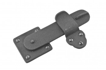 2 Pack Gate Latch Black Wrought Iron 5 34 by 3 38