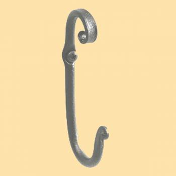 Wrought Iron Robe Hook Hand Forged Hooks Decorative Hook Coat Hook