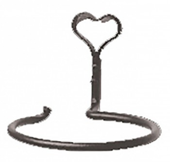 <PRE>Vintage Towel Ring Cast Iron Hook Hand Forged </PRE>