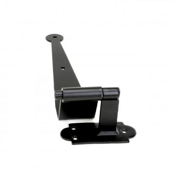 10 Black Iron Offset Shutter Strap Pintle Hinge 11 34 Shutter Dog Shutter Hardware Shutter Dogs
