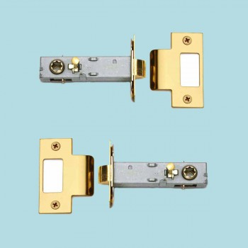 2 Privacy Door Knob Latch Set Reversible Gold PVD Stainless 2 38 metal brass modern antique traditional chic designer design interiot exterior inside outside vintage ceramic commercial
