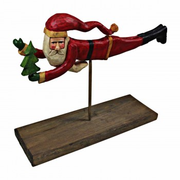 Flying Santa Centerpiece