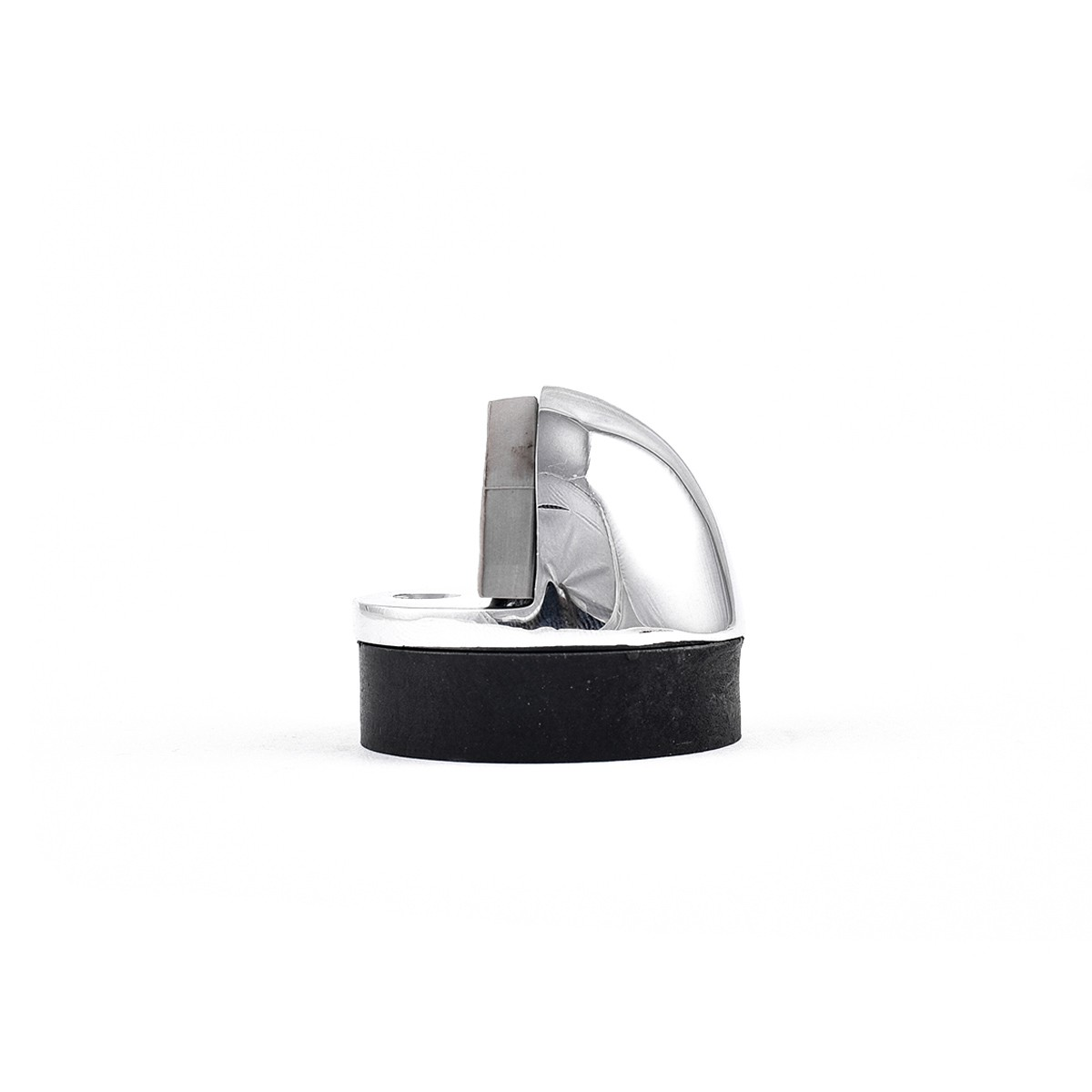 10 Brass Door Stop Dome Floor Mount Bumper Chrome Chrome Floor Door Stop Bumper Floor Mount Floormount Doorstop Half Dome Domed Door Stopper Door Bumper Low Profile Short Stop