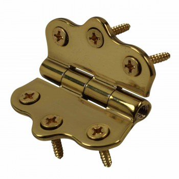 Cabinet Hinge Polished Brass No Finials 1 716H x 2W Door Hinges Door Hinge Solid Brass Hinge