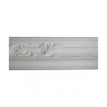 <PRE>Renovator's Supply Cornice White Urethane Julia Ornate Design 6 Pieces Totaling 561inch Length</PRE>zoom5