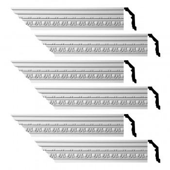 <PRE>Renovator's Supply Ornate Cornice White Urethane Weybridge Design 6 Pieces Totaling 576inch Length</PRE>zoom1