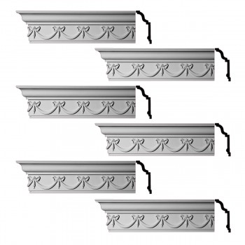 <PRE>Renovator's Supply Ornate Cornice White Urethane Hastings On Hudson  6 Pieces Totaling 576inch Length</PRE>zoom1