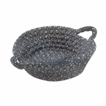 Basket Storage Blue Braided Casserole Dish Holder