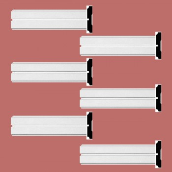 <PRE>Renovator's Supply Crown Molding White Urethane Honfleur  Design 6 Pieces Totaling 576inch Length</PRE>zoom2