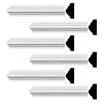 <PRE>Renovator's Supply Cornice White Urethane Simple Design 6 Pieces Totaling 570inch Length</PRE>zoom1