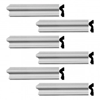 <PRE>Renovator's Supply Crown Molding White Urethane Caravaggio  Design 6 Pieces Totaling 570inch Length</PRE>zoom1