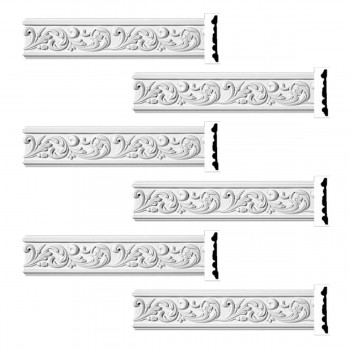 <PRE>Renovator's Supply Ornate Crown Molding White Urethane Kenmorer Design 6 Pieces Totaling 576inch Length</PRE>zoom1