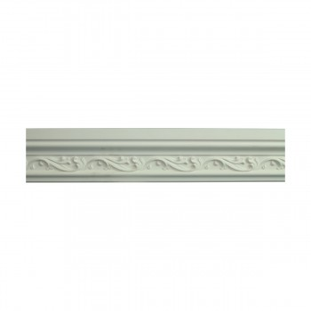 <PRE>Renovator's Supply Crown Molding White Urethane Savanah Design 6 Pieces Totaling 564inch Length</PRE>zoom3