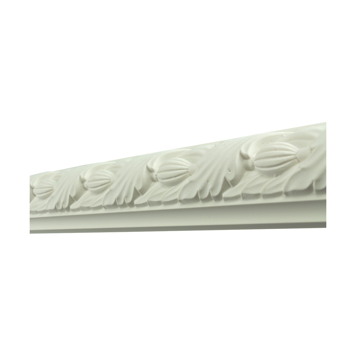 Renovators Supply Crown Molding White Urethane Tennyson Ornate Design 6 Pieces Totaling 564 Length White PrePrimed Urethane Crown Cornice Molding Cornice Crown Home Depot Ekena Millwork Molding Wall Ceiling Corner Cornice Crown Cove Molding