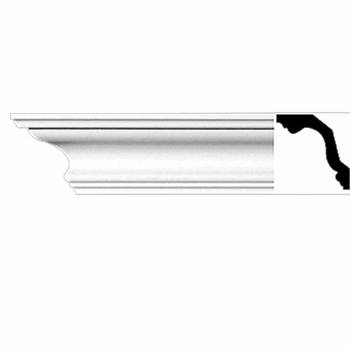 <PRE>Renovator's Supply Cornice White Urethane Ver Sur Mer Simple Design 6 Pieces Totaling 564inch Length</PRE>zoom1