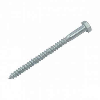"<PRE>10 5/16inch x 4"" Hex Lag Bolt Steel  Zinc Plated 10 Pack</PRE>zoom5"