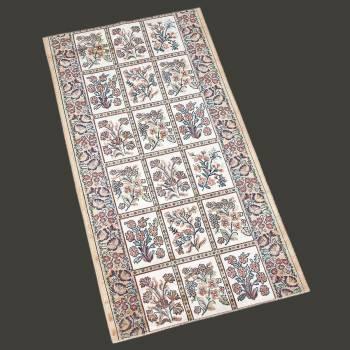 <PRE>Runner Area Rug 2' 2inch Wide, Sold by Foot Beige Silk Blend </PRE>zoom2