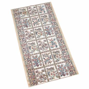 Runner Area Rug 2 2 Wide, Sold by Foot Beige Silk Blend Carpet Runner Carpet Runners Stairs Runner