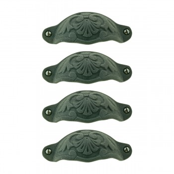 <PRE>Cabinet Pull Wrought Iron Colonial Design Pack of 4</PRE>