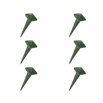 Decorative Square Pyramid Wrought Iron Nails Clavos Antique Design Iron Nails