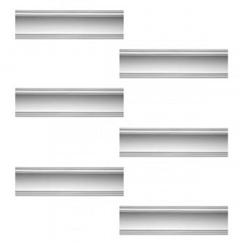 <PRE>Renovator's Supply Cornice White Urethane Golder Design 6 Pieces Totaling 570inch Length</PRE>zoom1