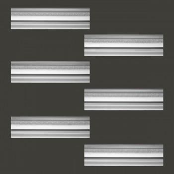 <PRE>Renovator's Supply Cornice White Urethane Medowlark Design 6 Pieces Totaling 465inch Length</PRE>zoom2