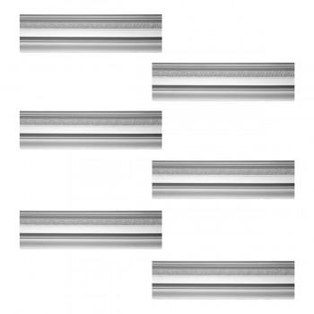 <PRE>Renovator's Supply Cornice White Urethane Medowlark Design 6 Pieces Totaling 465inch Length</PRE>zoom1