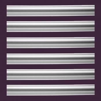 <PRE>Renovator's Supply Cornice White Urethane Hamilton Simple Design 6 Pieces Totaling 567.75inch Length</PRE>zoom2