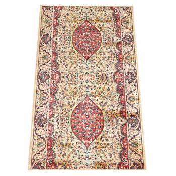 Beige Ispahan Runner 26 in. wide Sold by the foot