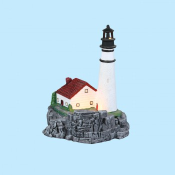 Table Lamps Lighthouse White Ceramic Lamp Lamp Table Lights Lamps